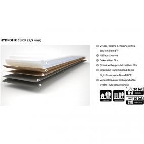 Hydrofix Click – nový typ vinylové podlahy s akustickou podložkou