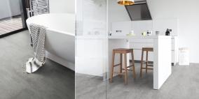 Celovinylové podlahy – ideální volba do kuchyně i koupelny