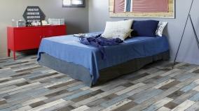 Typy pokládek vinylových podlah a velikosti prořezu