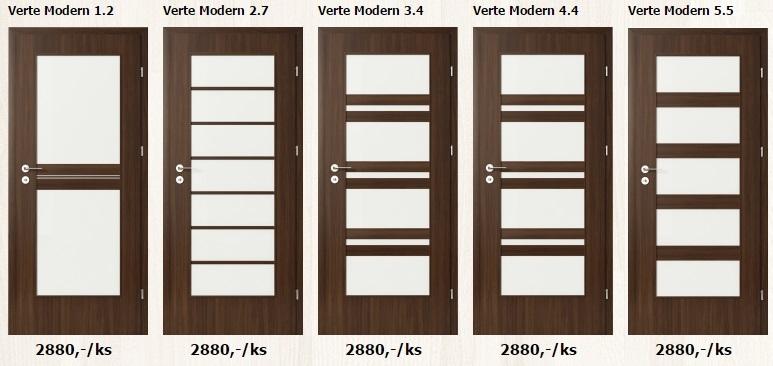 Laminátové interiérové dveře - www.plancher.cz