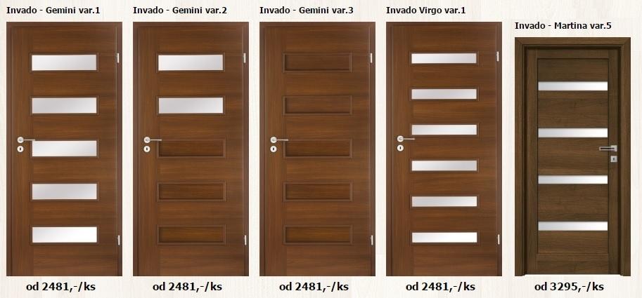 Foliované interiérové dveře - www.plancher.cz