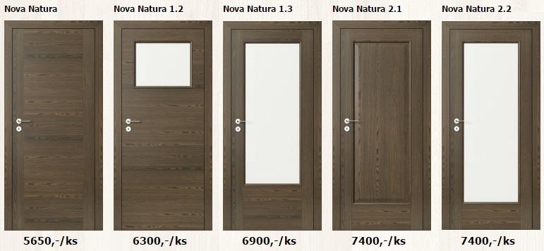 Dýhované interiérové dveře - www.plancher.cz