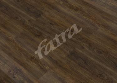 Vzorník: Vinylová zámková podlaha - Fatra Click - Dub Černý 8058-6