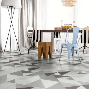 Vinylové podlahy Expona Domestic P2 5861 Grey Geometric