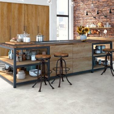 Vinylové podlahy Expona Domestic P9 5867 Sand Stencil Concrete