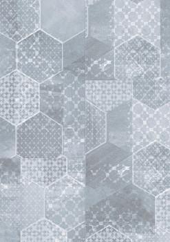 Vzorník: Vinylové podlahy Vinylová podlaha Gerflor Creation 30 Cementine Denim 0864