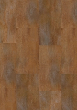 Vzorník: Vinylové podlahy Vinylová podlaha Gerflor Creation 55 Clic Rust Corten 0095