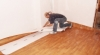Pokládka vinylové podlahy Wineo 400 Wood Dub Embrace Grey DB00110