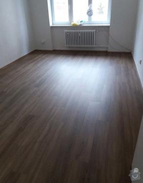 Příprava podkladu, pokládka vinylové podlahy